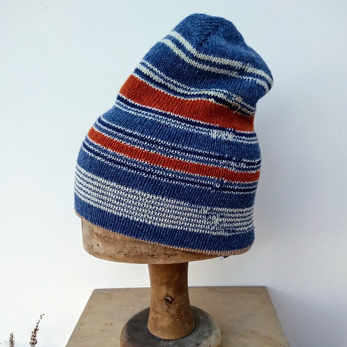 Blue/white Stocking Cap