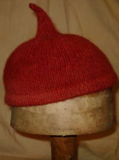 Medieval 'pixie' hat- to order