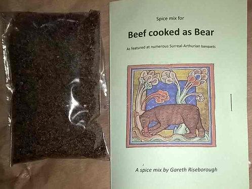 Beef as Bear mixture