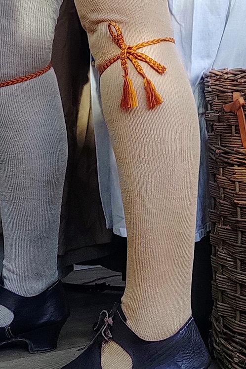 Lightweight Linen Stockings