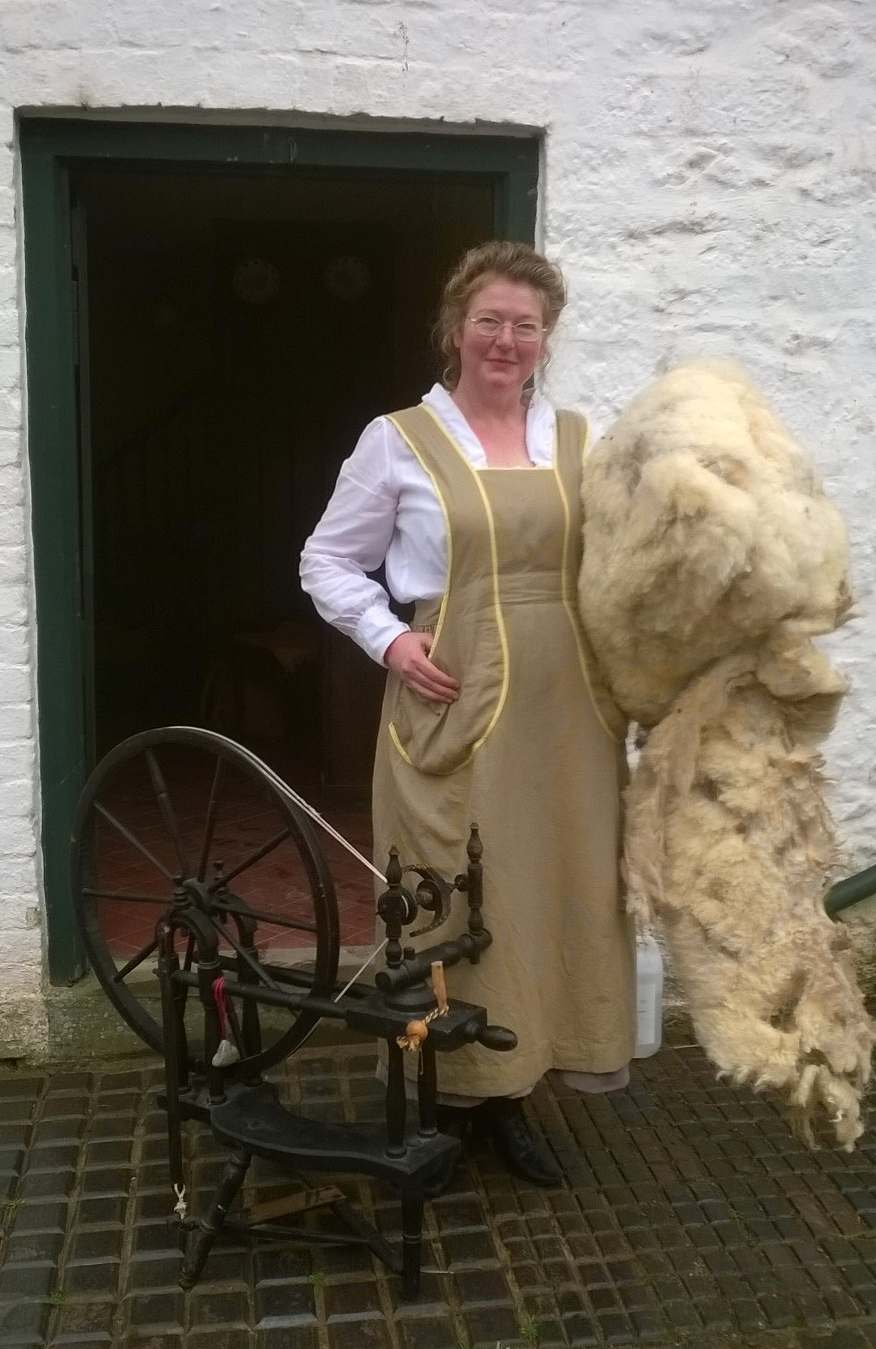 WW1 shearing and spinning