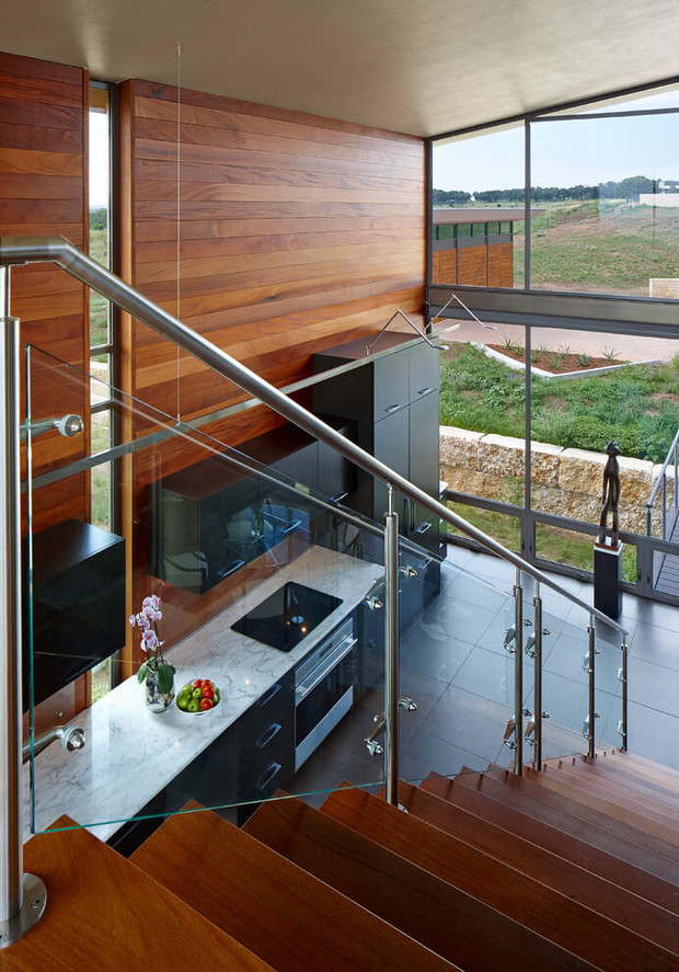 Contemporary Glass Residence By Jim Gewinner Byouteit - Contemporary glass residence