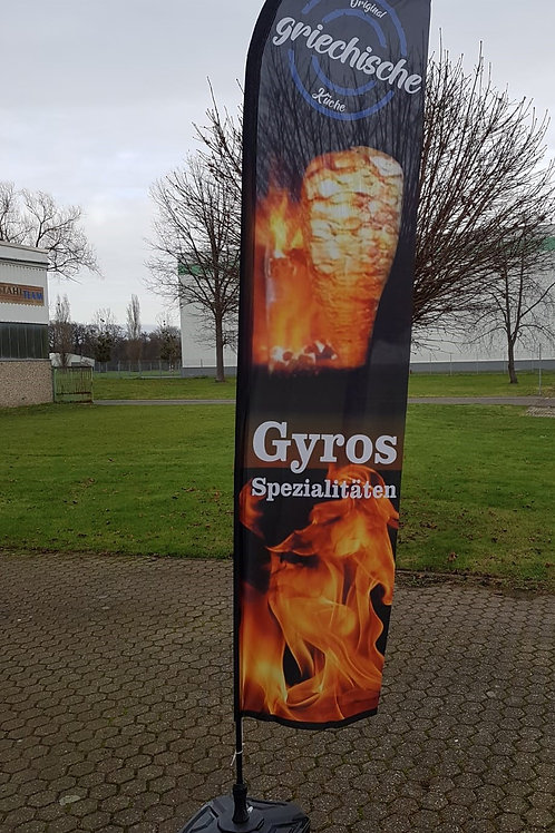 Gyros Spezialitäten Beachflag BF0100
