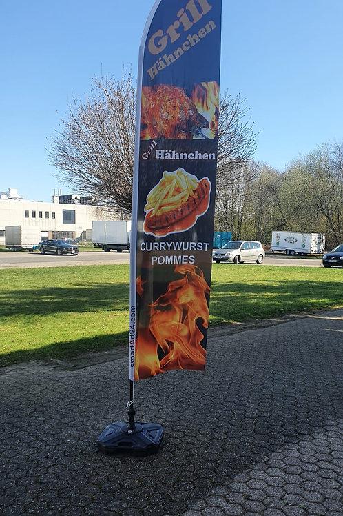 Grill Hähnchen Currywurst Pommes BF0111