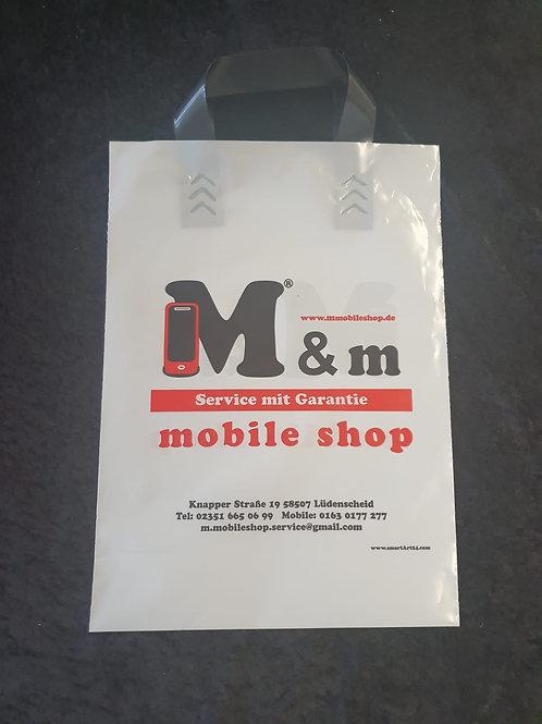 Tragetasche (Plastik M&m Shop)