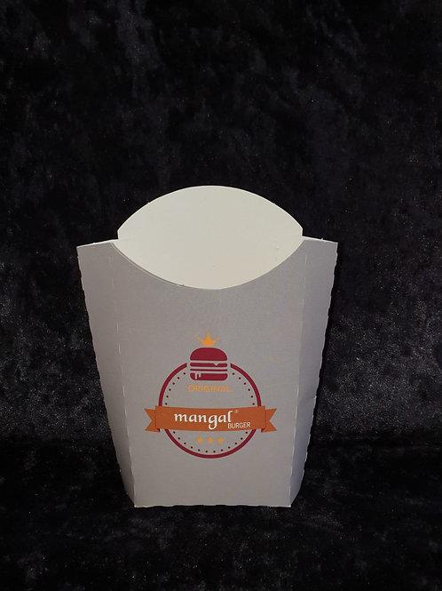 Pommesverpackung (Mangal Pommes Karton)