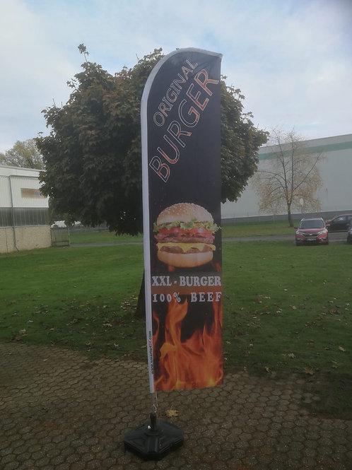 XXL Burger Beachflag BF0097