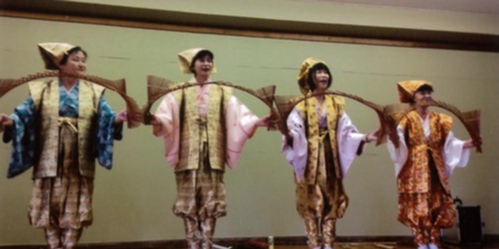 南京玉すだれ体験編 (Nankin Tamasudare Class)