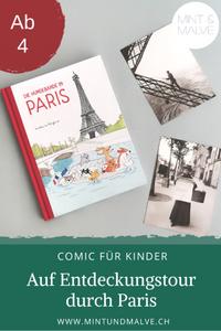 Buchtipp MINT & MALVE: Die Hundebande in Paris - Dorothée de Monfreid (Reprodukt, 2020)