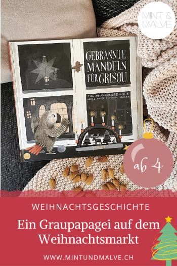 Buchtipp MINT & MALVE: Gebrannte Mandeln für Grisou - Nikola Huppertz, Andrea Stegmaier (Tulipan 2020)