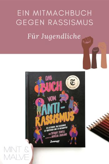 mint & malve Buchtipp: Das Buch vom Antirassismus - Tiffany Jewell, Aurélia Durand (Zuckersüss Verlag 2020)