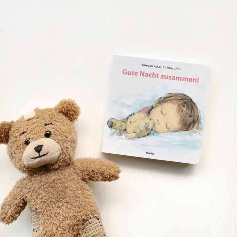 MINT & MALVE Buchtipp: Gute Nacht zusammen! - Komako Sakai, Chihiro Ishizu (Moritz, 2019)
