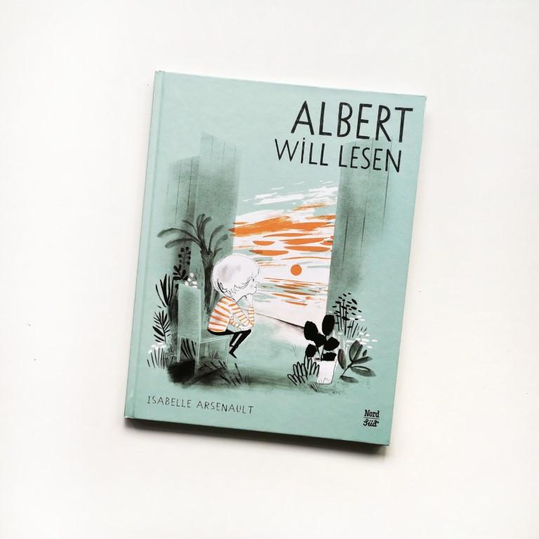 MINT & MALVE Buchtipp: Albert will lesen, Isabelle Arsenault, NordSüd Verlag, 2020