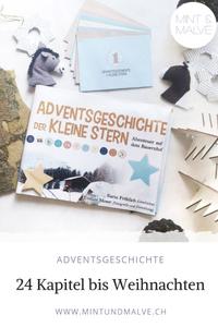 """Buchtipp MINT & MALVE: Adventsgeschichte """"Der kleine Stern"""", Karin Fröhlich, Eveline Moser, 2019"""