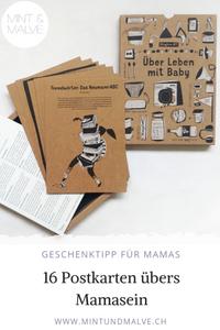 Buchtipp MINT & MALVE: Blogbox #1. Über Leben mit Baby. Mamas Unplugged, 2019