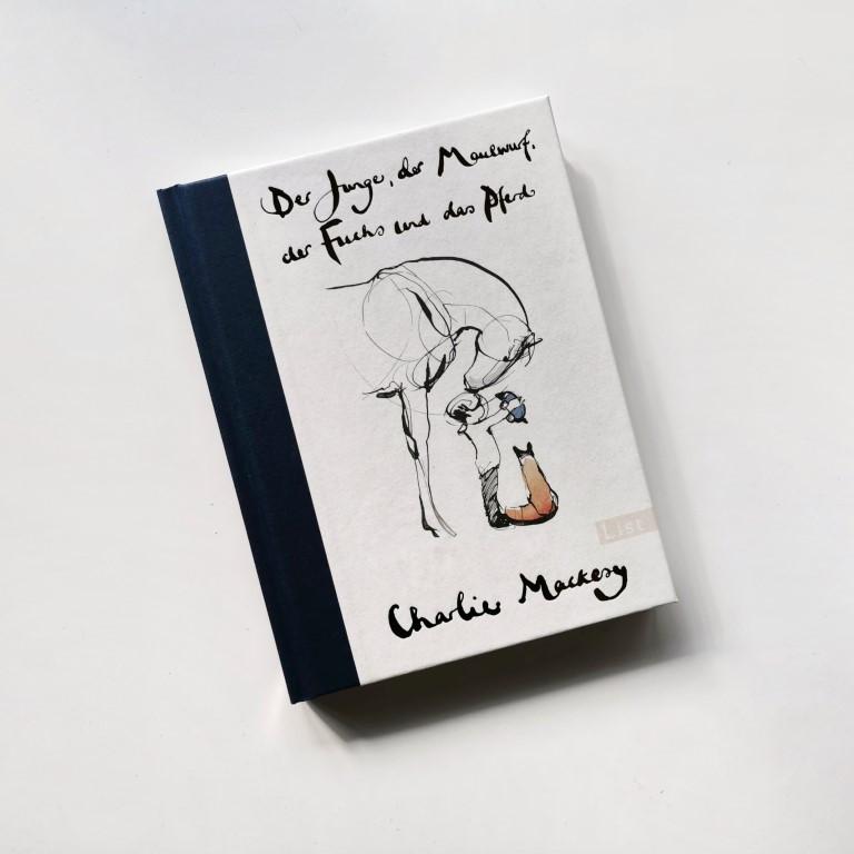 MINT & MALVE Buchtipp: Der Junge, der Maulwurf, der Fuchs und das Pferd, Charlie Mackesy, List (2020)