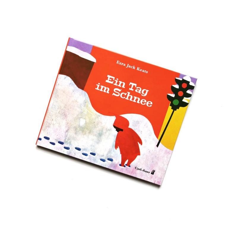 MINT & MALVE Buchtipp: Ein Tag im Schnee - Ezra Jack Keats (Carl-Auer Kids, 2020)