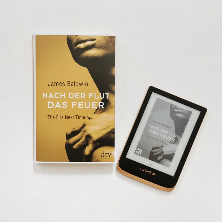 MINT & MALVE Buchtipp: Nach der Flut das Feuer - James Baldwin (dtv, 2019)