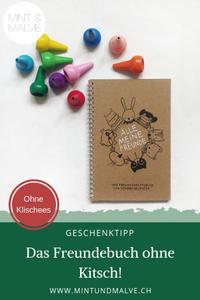 Buchtipp MINT & MALVE: Alle meine Freunde, schönegrüsse.ch, 2019