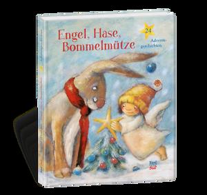 Engel, Hase, Bommelmütze, 24 Adventsgeschichten, Brigitte Weninger und andere, NordSüd Verlag, 2017