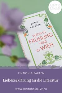 Buchtipp MINT & MALVE: Wenn es Frühling wird in Wien, Petra Hartlieb, Dumont, 2018