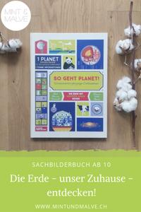 Buchtipp MINT & MALVE: So geht Planet! Figueras, Tavernier, Verhille, Kleine Gestalten, 2019