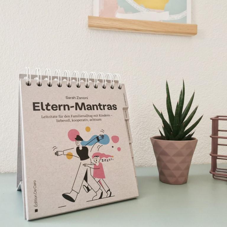Eltern-Mantras - Sarah Zanoni (Édition De Caro, 2021)