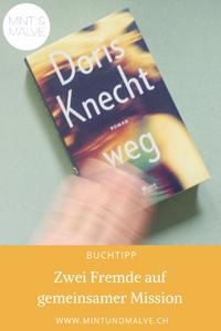 Buchtipp MINT & MALVE: weg, Doris Knecht, Rowohlt Berlin, 2019