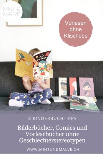 Buchtipps MINT & MALVE: 8 Klischeefreie Kinderbücher zum Schweizer Vorlesetag
