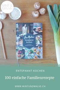 Buchtipp MINT & MALVE: LouMalou Entspannt kochen. 100 einfache Rezepte für jeden Tag, AT Verlag, 2019