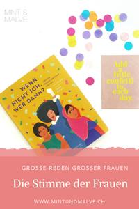 Buchtipp MINT & MALVE: Wenn nicht ich, wer dann? Anna Russell, Camila Pinheiro, Sieveking Verlag, 2019