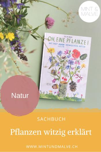 Buchtipp MINT & MALVE: Oh, eine Pflanze! - Felix Bork (Eichborn, 2019)