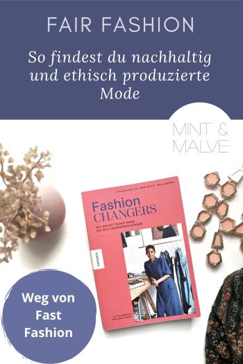 mint & malve Buchtipp: Fashion Changers - Jana Braumüller, Vreni Jäckle, Nina Lorenzen (Knesebeck 2020)