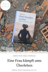 Buchtipp MINT & MALVE: Dem Paradies so fern. Martha Liebermann. Sophia Mott, Ebersbach & Simon, 2019