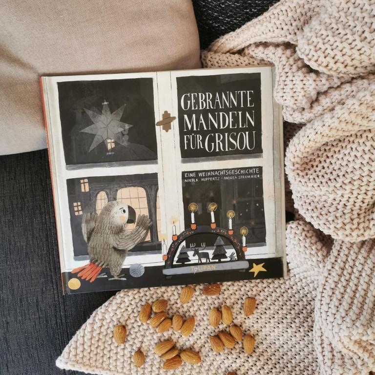 MINT & MALVE Buchtipp: Gebrannte Mandeln für Grisou - Nikola Huppertz und Andrea Stegmaier, Tulipan (2020)