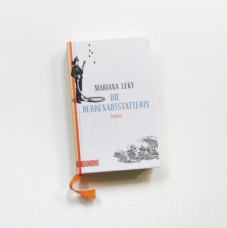 MINT & MALVE Buchtipp: Die Herrenausstatterin - Mariana Leky, Dumont (2010/2019)