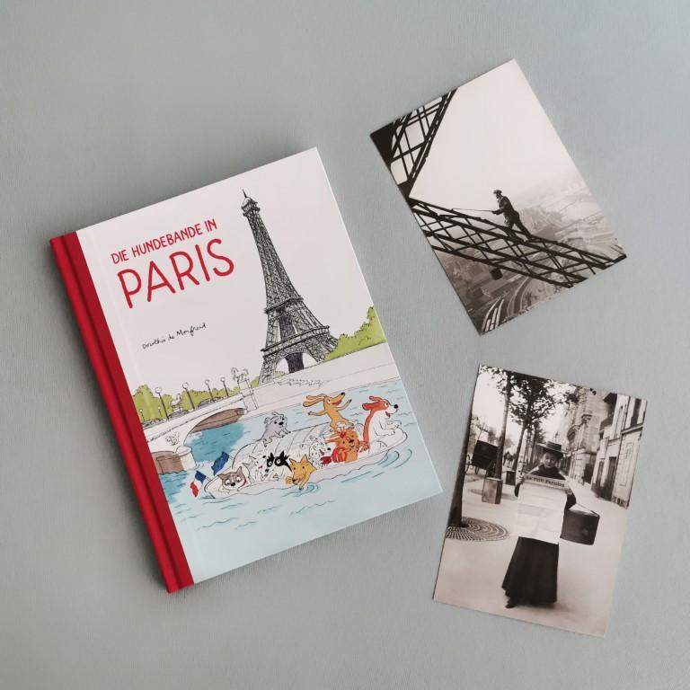 MINT & MALVE Buchtipp: Die Hundebande in Paris - Dorothée de Monfreid (Reprodukt, 2020)