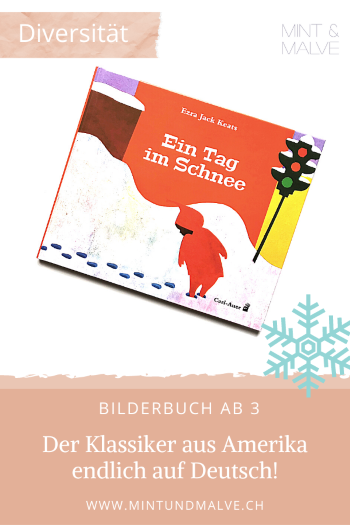 Buchtipp MINT & MALVE: Ein Tag im Schnee - Ezra Jack Keats (Carl-Auer Verlag, 2020)