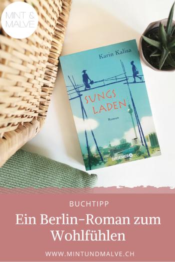 Buchtipp MINT & MALVE: Sungs Laden, Karin Kalisa (Droemer, 2017)