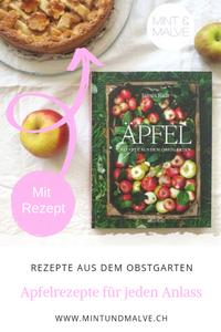 Buchtipp MINT & MALVE: Äpfel. Rezepte aus dem Obstgarten, James Rich, AT Verlag, 2019
