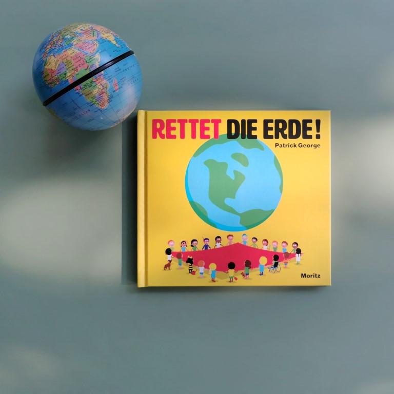 MINT & MALVE Buchtipp: Rettet die Erde! - Patrick George, Moritz Verlag 2020