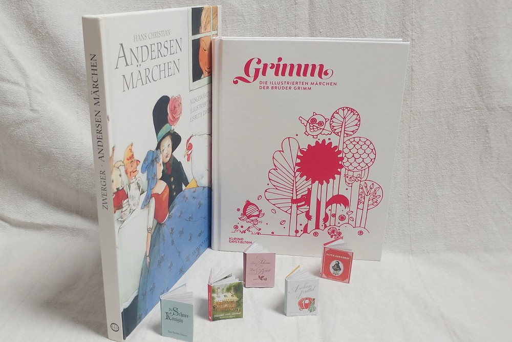 Märchen: Andersen, Grimm, Miniature