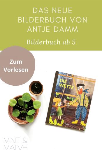 Buchtipp mint & malve: Die Wette - Antje Damm (Moritz Verlag, 2021)