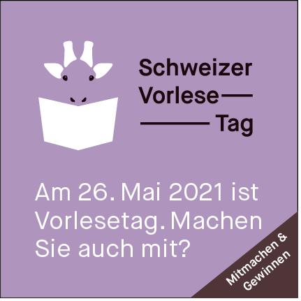 Schweizer Vorlesetag 2021: Mitmachen und gewinnen