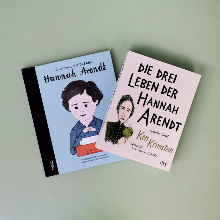 MINT & MALVE Buchtipp: Hannah Arendt für Gross und Klein (Insel 2020, dtv 2019)
