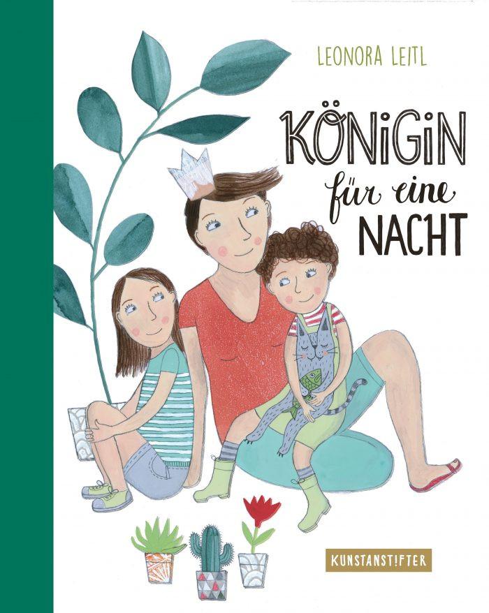 Cover: Königin für eine Nacht, Leonora Leitl, kunstanstifter 2019