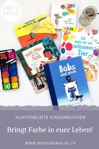 Buchtipps MINT & MALVE: Kunterbunte Kinderbücher