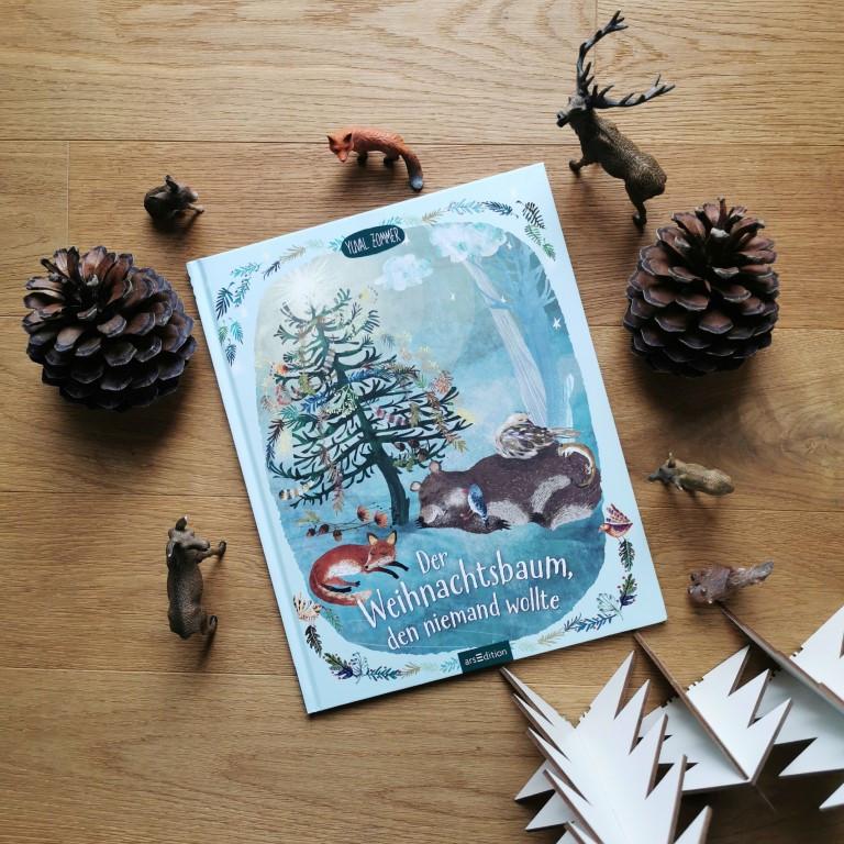 MINT & MALVE Buchtipp: Der Weihnachtsbaum, den niemand wollte - Yuval Zommer (arsEdition 2020)