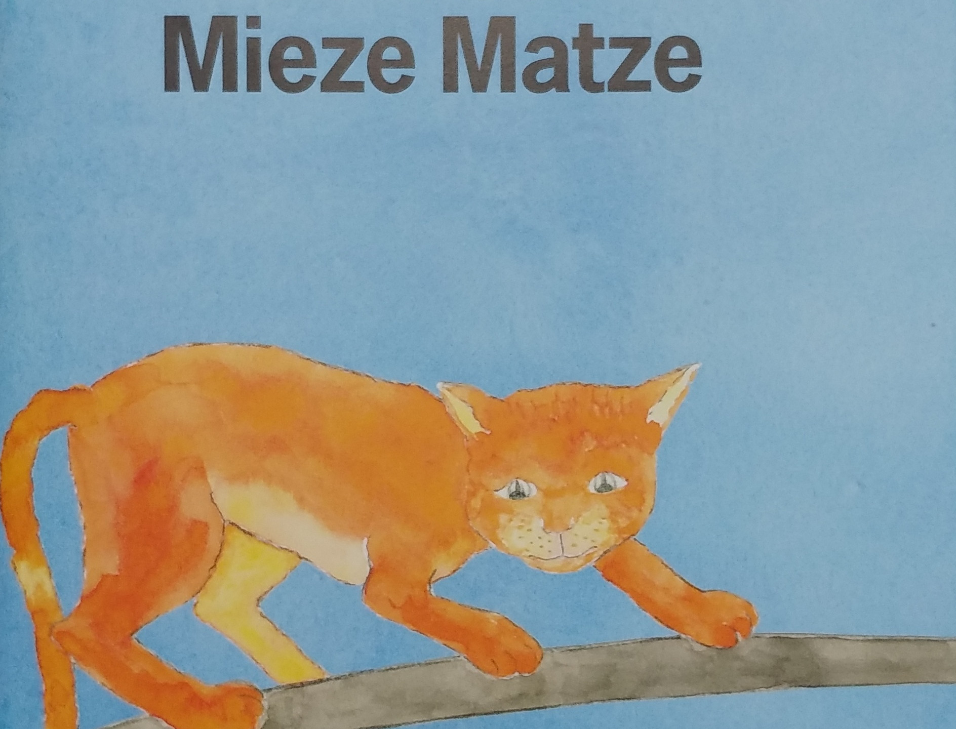 Cover Die Katze Mieze Matze