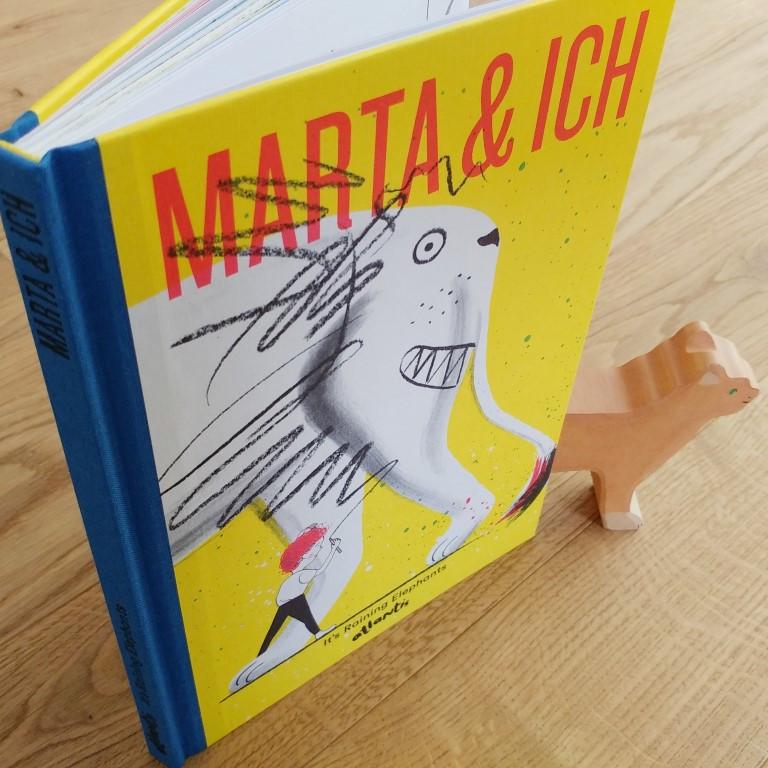 Marta & ich, It's raining elephants, atlantis Verlag, 2017